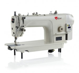 V-8700DD DIRECT DRIVE LOCKSTITCH SEWING MACHINE  COMPLETE WITH TABLE STAND